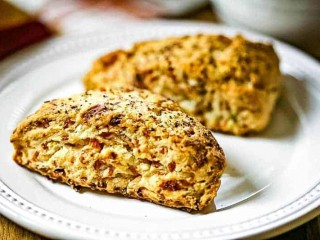 Bacon Cheddar Scones