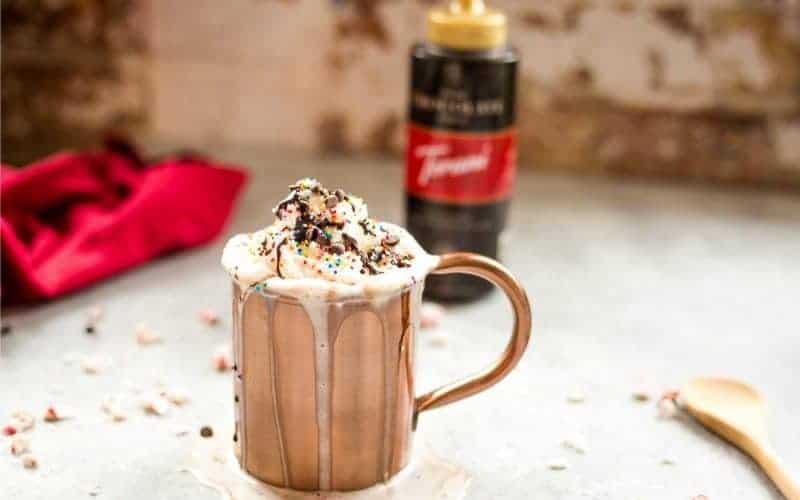 Dark Chocolate Peppermint Mocha | Life, Love, and Good Food