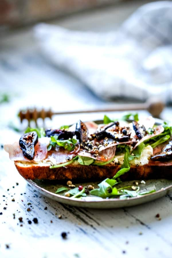Savory Fig Ricotta Toast | Life, Love, and Good Food