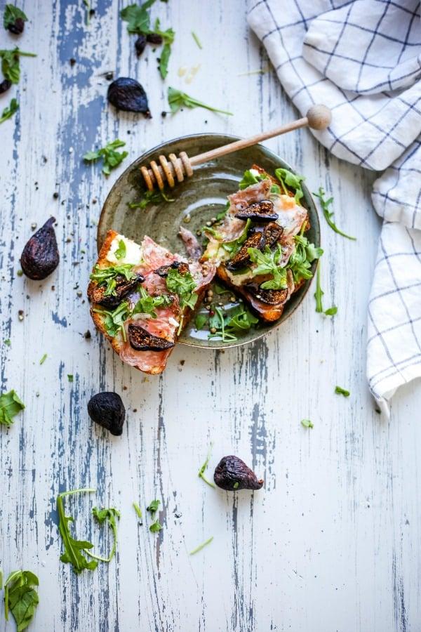 Savory Fig Ricotta Toast | Life, Love, and Good Food