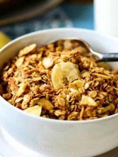 Peanut Butter Banana Granola | Life, Love, and Good Food