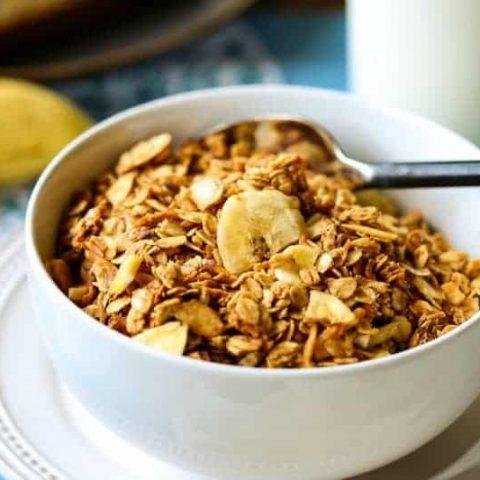 Peanut Butter Banana Granola   Life, Love, and Good Food