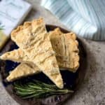 Rosemary and Sea Salt White Chocolate Shortbread | Life, Love, and Good Food