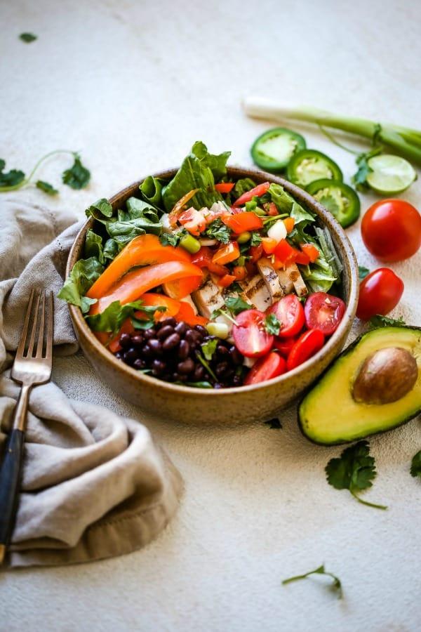 Tex-Mex Pico Chicken Bowl   Life, Love, and Good Food