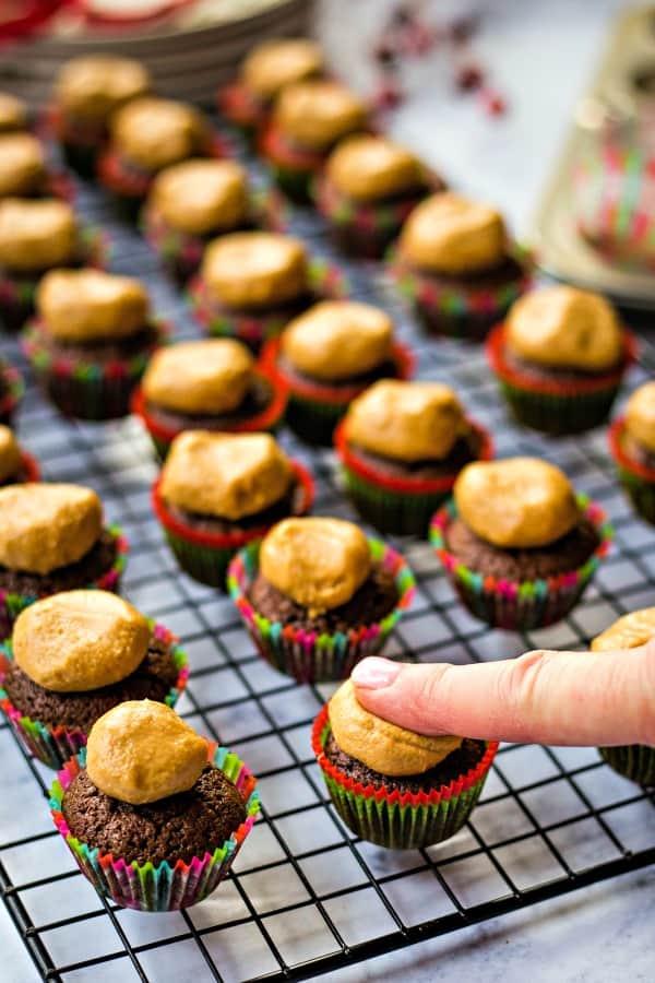 Buckeye Brownie Bites | Life, Love, and Good Food
