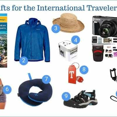 International Travel Holiday Gift Guide