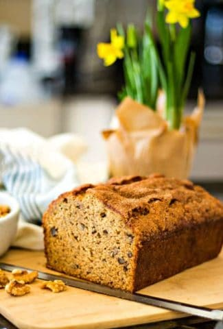 Banana Bread in Kitchen
