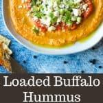 Loaded Buffalo Hummus