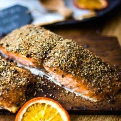 Citrus Salmon Dry Rub