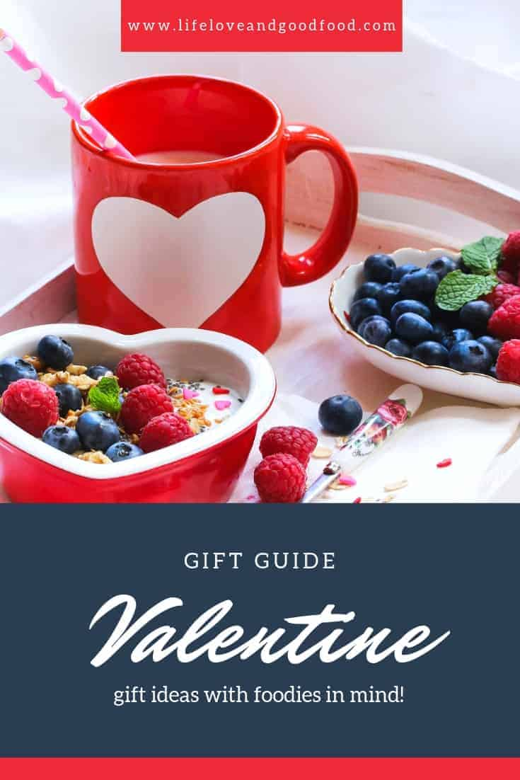 If you're looking for fresh and unique gift ideas for your Valentine sweetheart or best girlfriend for Galentine's Day, and they also happen to be a hopeless foodie, I've got you covered! My Valentine's Day Foodie Gift Guide includes ten awesome gifts that even this self-proclaimed foodie would be thrilled to receive from her honey (wink-wink)! #valentinegiftguide #foodiegiftguide #foodiegifts #galentinegiftguide #galentine #valentine