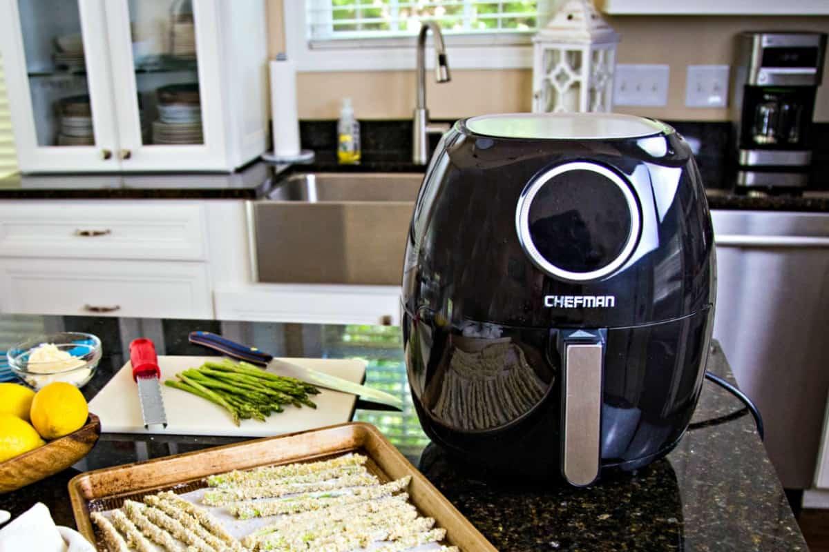 Chefman Air Fryer on kitchen counter