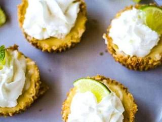 Mini Coconut Key Lime Pies