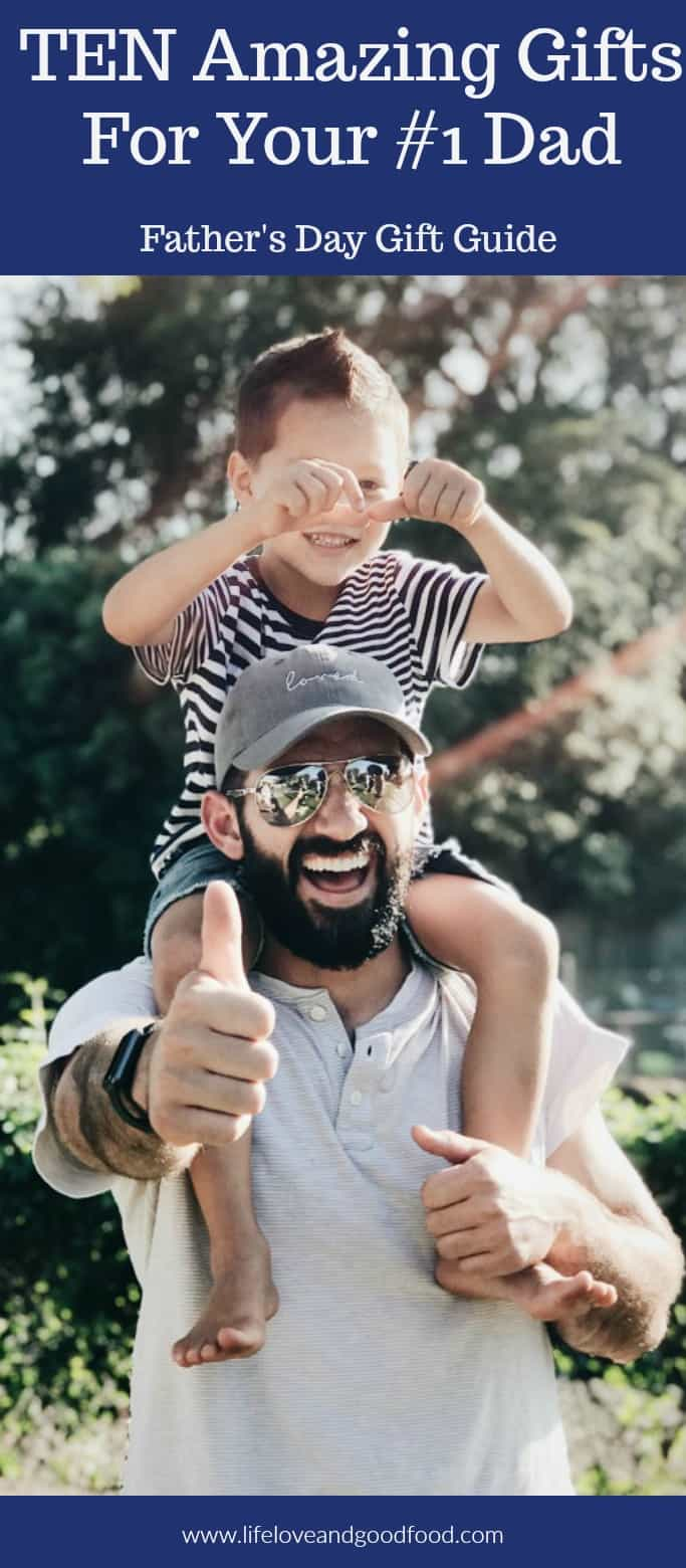 Ever struggle to come up with a gift idea for the Dad who has everything? Well, here are ten creative Father's Day gift ideas that are sure to be a hit! #fathersdaygiftguide