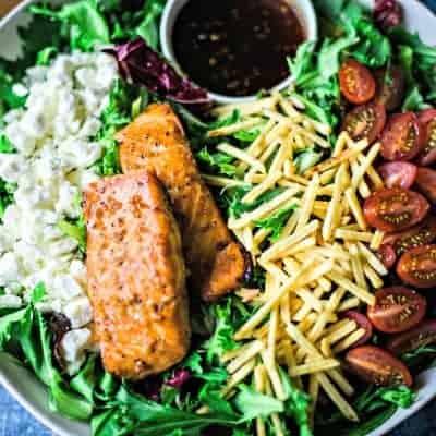 BRAVO Copycat Grilled Salmon Salad