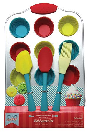Mini Cupcake Baking Set with Recipes for Kids