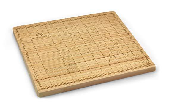 OCD Bamboo Cutting Board, 9-inch by 12-inch