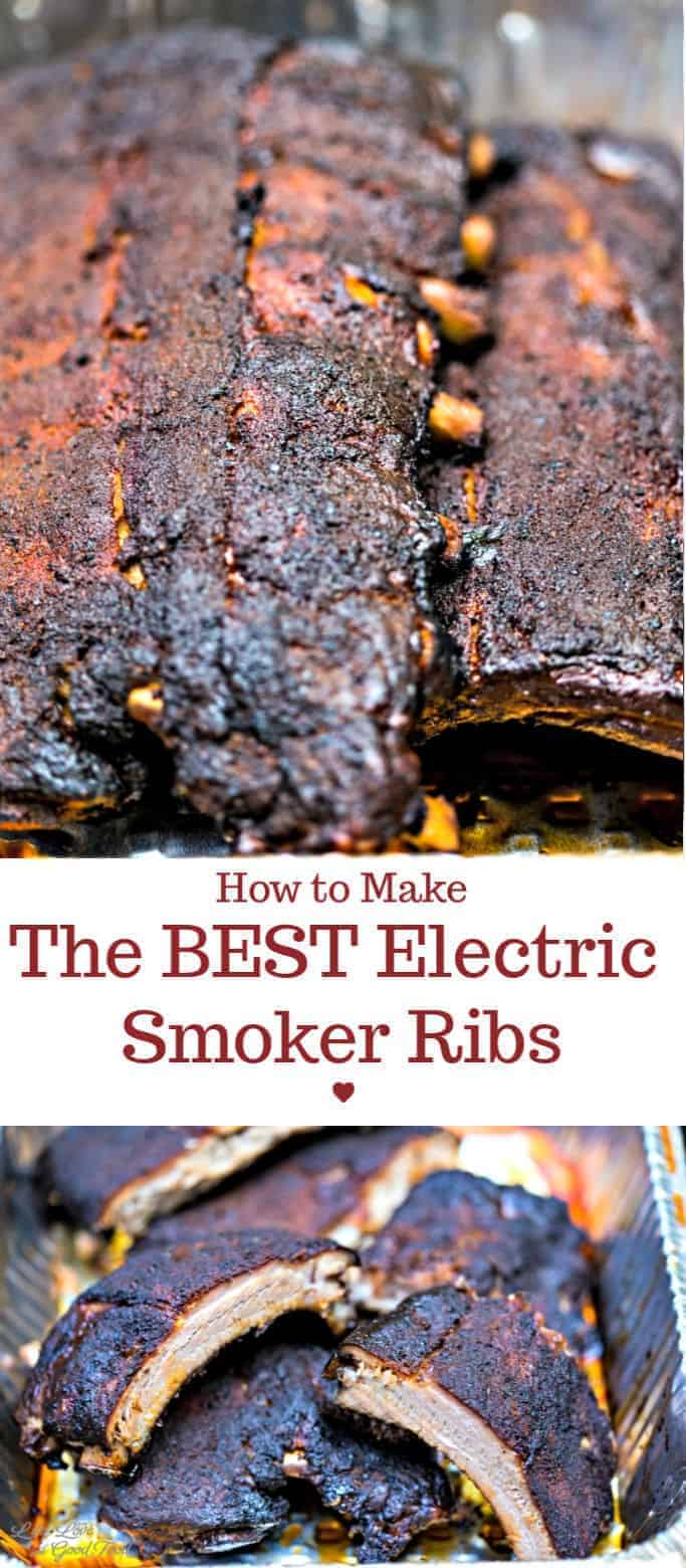 Dry rub ingredients, smoke, and time work together to create an amazing finish to these sweet and smoky ribs that are delicious, juicy, and fall-off-the-bone tender. Gets smoking tips and our recipe for dry rub, mop sauce, and BBQ sauce. Enjoy the process and get ready for some good eating! #babybackribs #dryrub #barbecuesauce