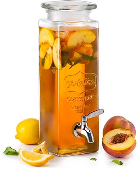 Tall Mason Jar Drink Dispenser