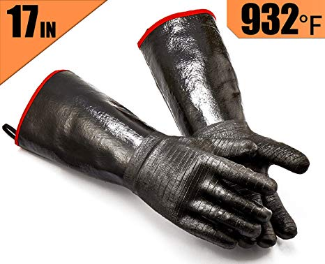 BBQ Waterproof Oil/Heat Resistant Insulated Cooking Gloves