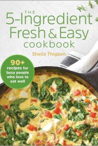 fresh and easy cookbook cover
