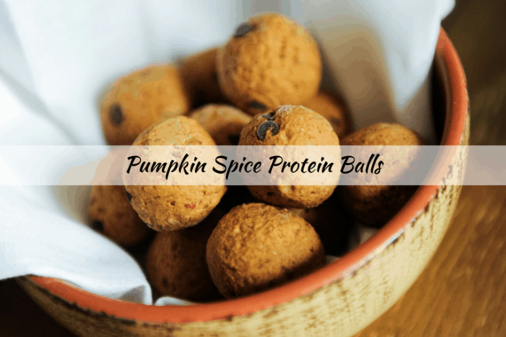 The Best Pumpkin Spice Protein Balls Recipe