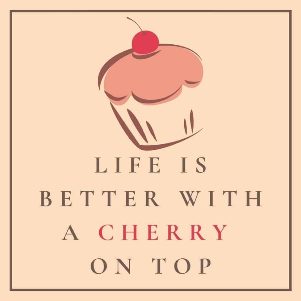 cherry quote printable