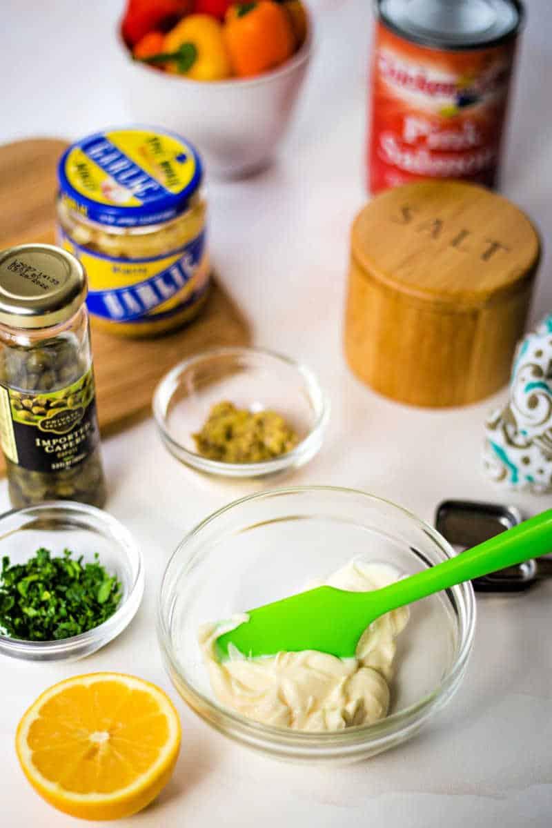 ingredients for tartar sauce