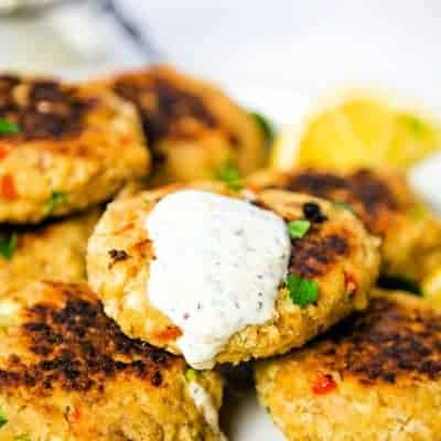 Salmon Croquettes {old-fashioned salmon patties}