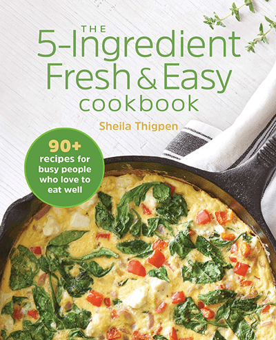Cover image of the 5-Ingredient Fresh & Easy Cookbook