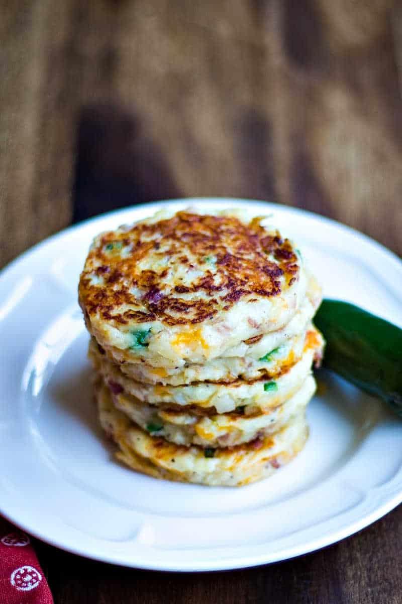 Tex-Mex Mashed Potato Cakes