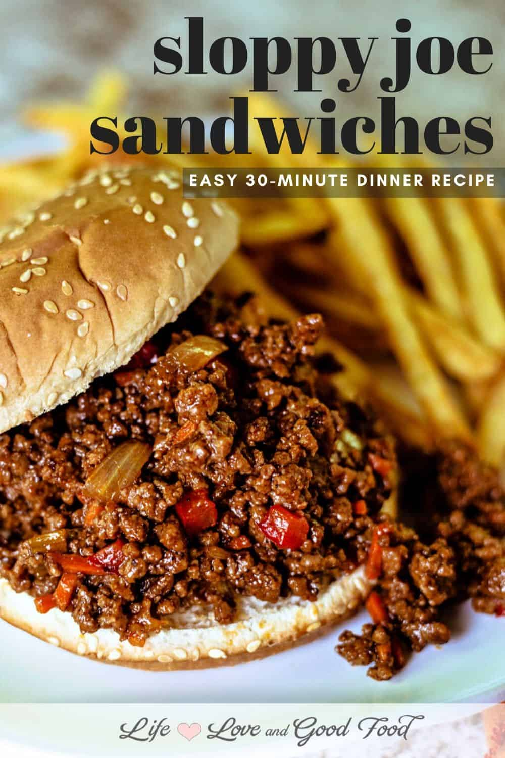 Ready in just 30 minutes, serve homemade Sloppy Joe Sandwiches topped with shredded cheddar cheese and dill pickles for the perfect flavor contrast. Saucy, savory, quick and easy, Sloppy Joe Sandwiches are always a family favorite. This recipe can be easily doubled (or tripled) if you're cooking for a crowd, too.