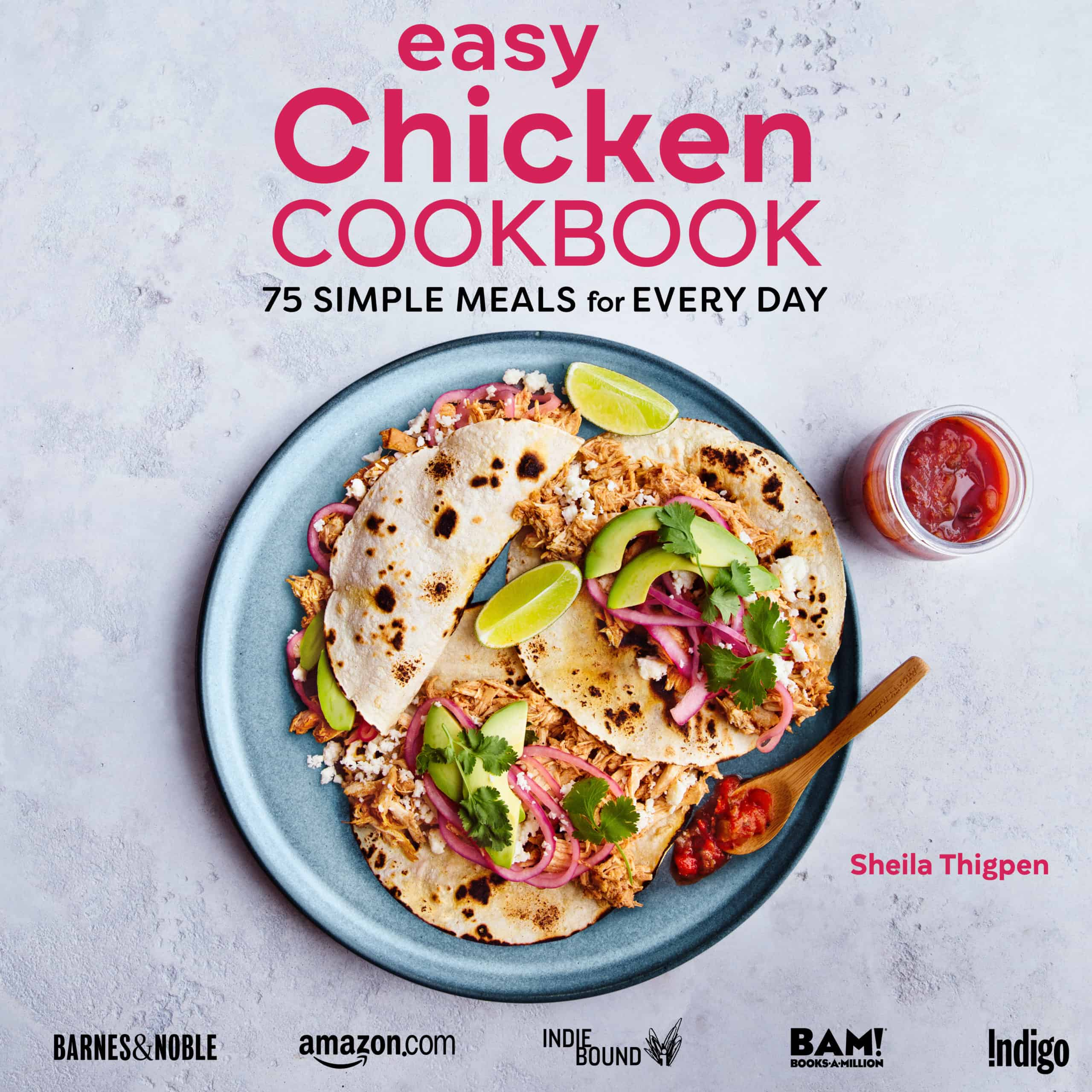 cover image for the Easy Chicken Cookbook