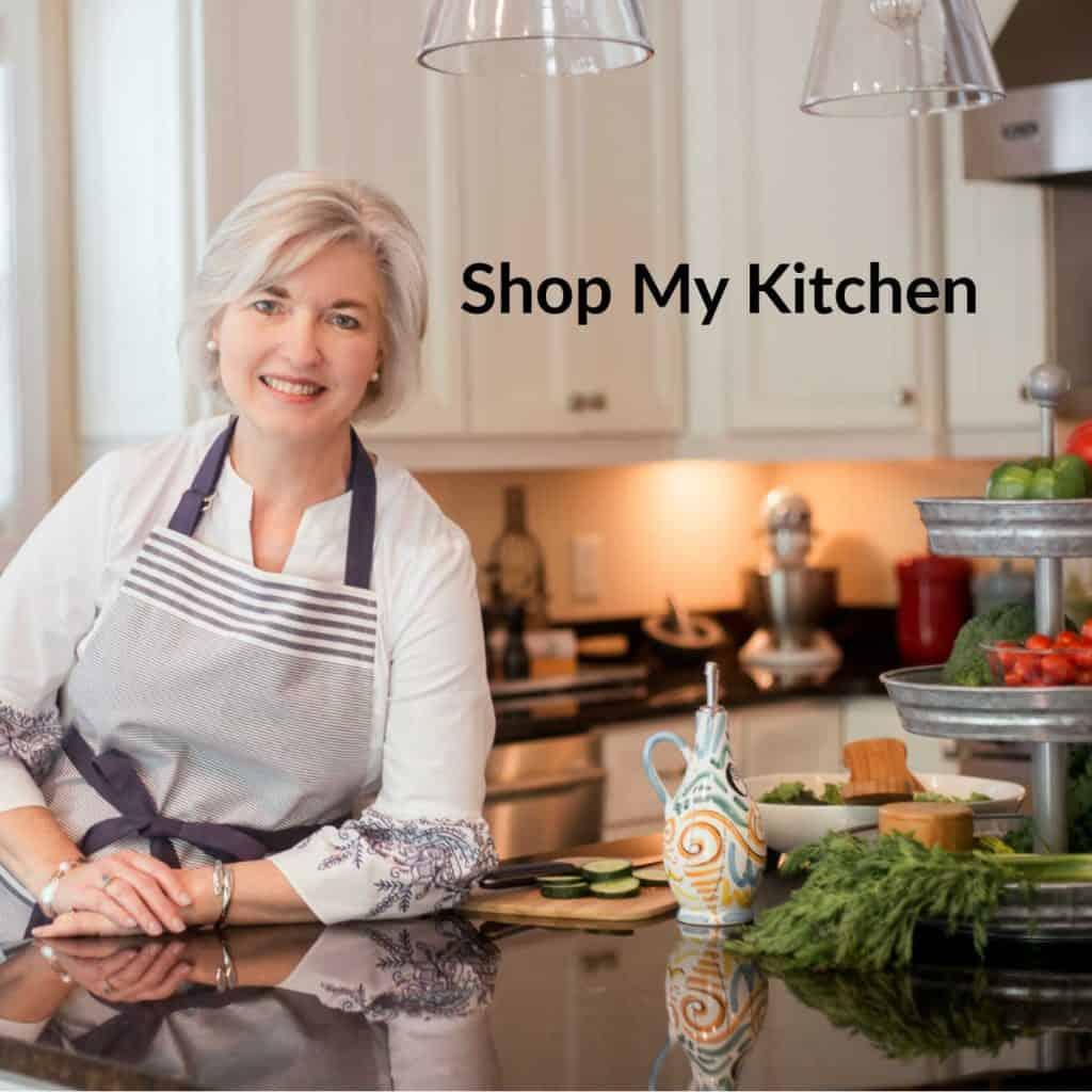Sheila Thigpen in her kitchen — Shop My Kitchen