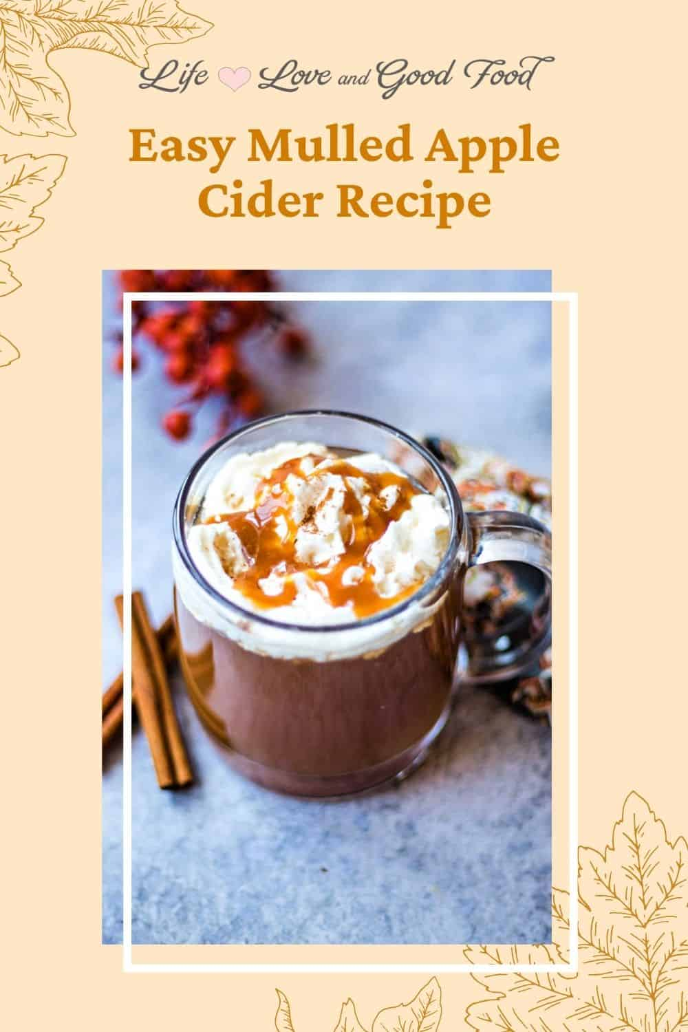 This easy Hot Apple Cider recipe makes a tasty non-alcoholic hot drink flavored with cinnamon, cloves, and allspice everyone can enjoy on chilly Autumn or Winter days. A warm mug of perfectly spiced and lightly sweetened apple cider is perfect for Halloween or harvest parties, Thanksgiving, Christmas, or any time you're in the mood for a apple-flavored treat. Make it a hot apple cider float with whipped cream and caramel syrup!