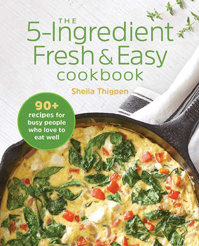 fresh and easy cookbook cover image